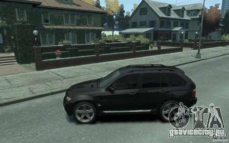 BMW X5 (E53f) 2004 для GTA 4 вид слева