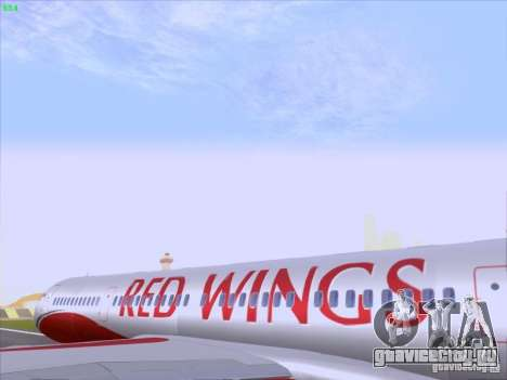 Tupolev Tu-204 Red Wings Airlines для GTA San Andreas вид изнутри