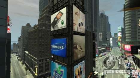 Real Time Square mod для GTA 4 третий скриншот