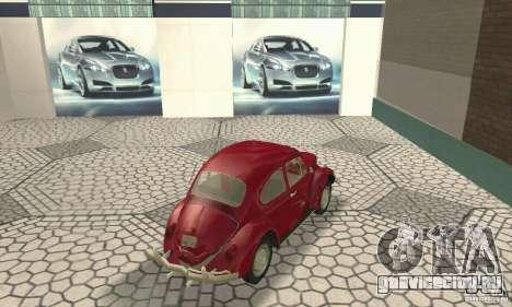 Volkswagen Beetle 1963 для GTA San Andreas