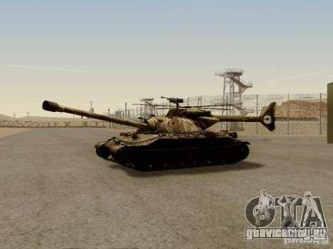 ИС-7 для GTA San Andreas вид слева