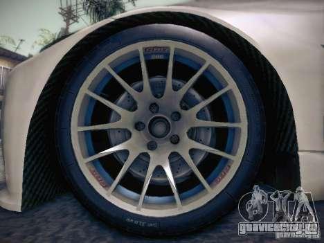 BMW 320SI Drift для GTA San Andreas двигатель
