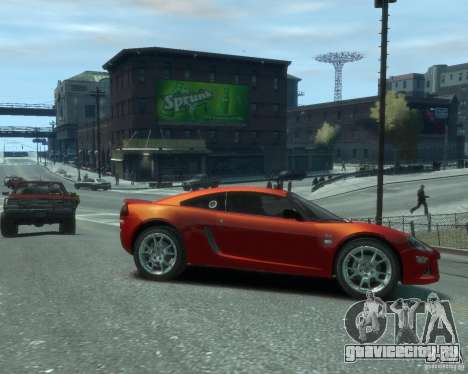 Lotus Europa S для GTA 4 вид справа