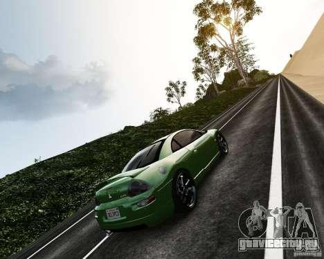 Mitsubishi Eclipse GT-S для GTA 4 вид сзади