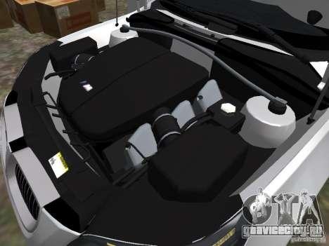 BMW M5 для GTA 4 вид изнутри
