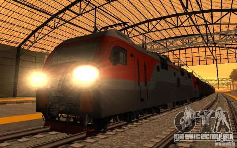 ЖД мод II для GTA San Andreas седьмой скриншот