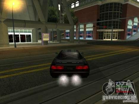 Teal Infernus для GTA San Andreas вид сзади слева