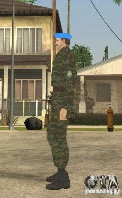 ВДВшник для GTA San Andreas четвёртый скриншот