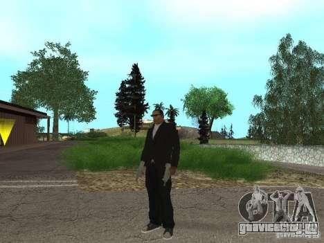 CJ Mafia Skin для GTA San Andreas третий скриншот