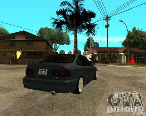 Honda Civic Coupe V-Tech для GTA San Andreas