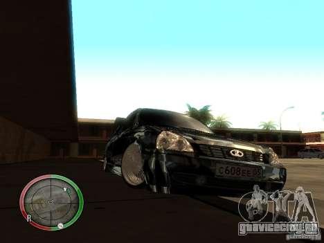 Lada Priora Dag Style для GTA San Andreas вид слева