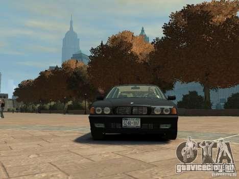 BMW 750i (E38) 1998 для GTA 4 вид слева