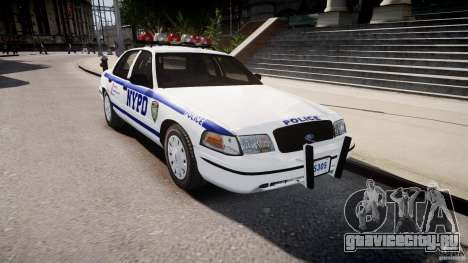 Ford Crown Victoria Police Department 2008 NYPD для GTA 4