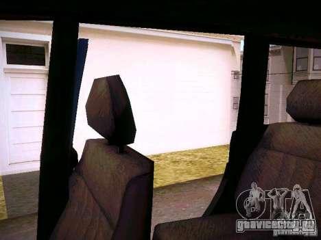 УАЗ 3160 Патриот для GTA San Andreas вид снизу