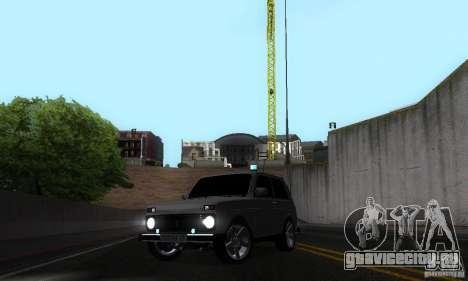 ВАЗ 21213 НИВА FBI для GTA San Andreas вид сбоку