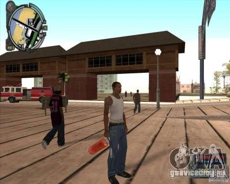 S.T.A.L.K.E.R. Call of Pripyat HUD for SA v1.0 для GTA San Andreas пятый скриншот