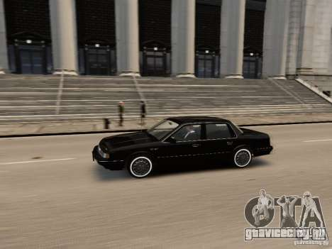 Oldsmobile Cutlass Ciera 1993 для GTA 4 вид изнутри