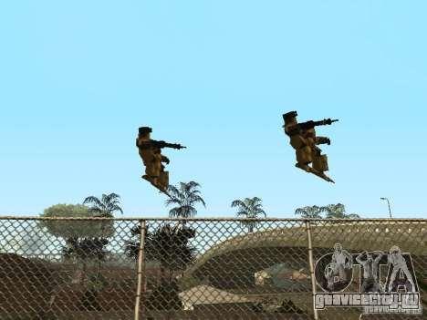 Трансформеры для GTA San Andreas четвёртый скриншот