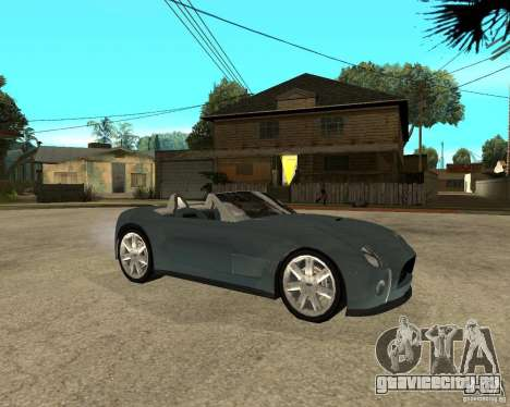 Ford Cobra Concept для GTA San Andreas вид справа