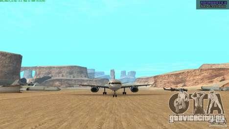 Boeing 757-200 Final Version для GTA San Andreas вид слева