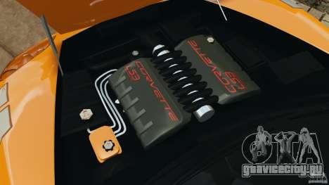 Chevrolet Corvette C6 Grand Sport 2010 для GTA 4 вид сбоку