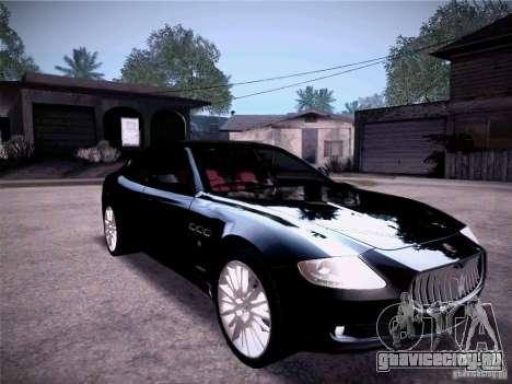 Maserati Quattroporte 2010 для GTA San Andreas вид сбоку