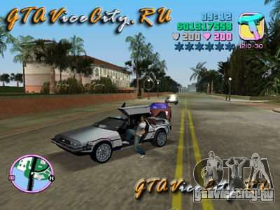 De Lorean для GTA Vice City