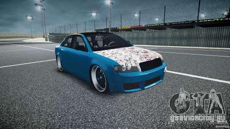 Audi S4 Custom для GTA 4 вид сзади
