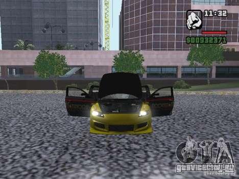 Mazda RX-8 Rockstar для GTA San Andreas вид справа