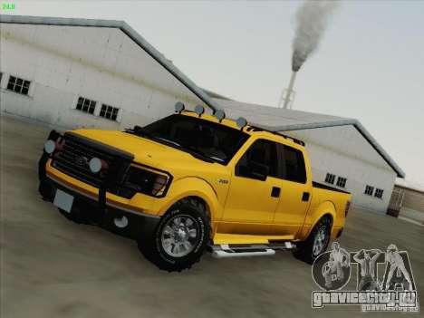 Ford F-150 для GTA San Andreas салон