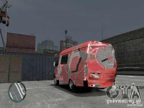 ГАЗель 2705 Telkomsel Van для GTA 4 вид изнутри