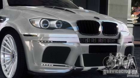 BMW X6 Hamann для GTA 4 вид слева