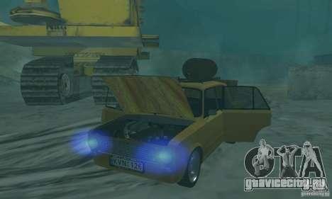 ВАЗ 2101 RAT LOOK для GTA San Andreas вид сзади