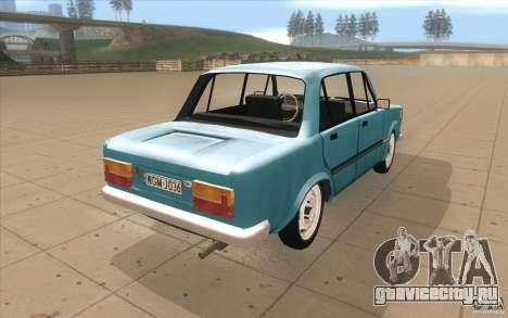 Fiat 125p для GTA San Andreas вид сбоку