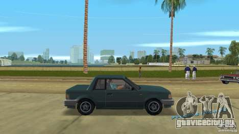 Manana HD для GTA Vice City вид справа
