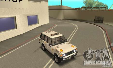 Range Rover County Classic 1990 для GTA San Andreas