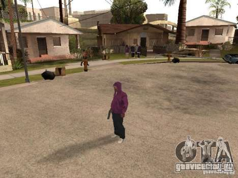 Капюшон для GTA San Andreas