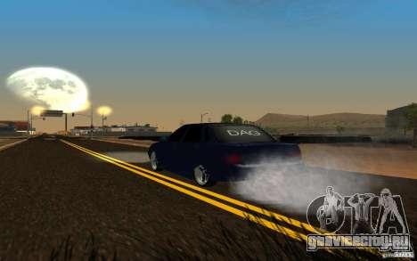 ЛАДА ПРИОРА tuning для GTA San Andreas вид сзади
