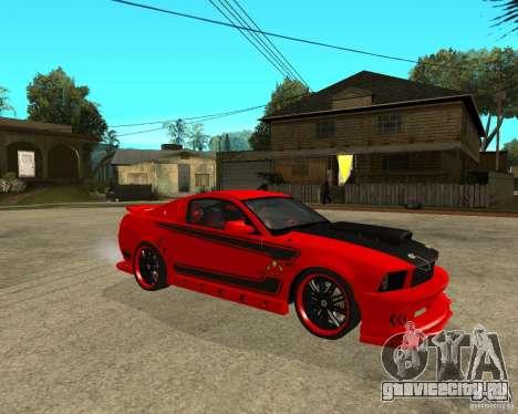 Ford Mustang Red Mist Mobile для GTA San Andreas вид справа