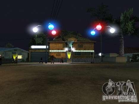 Новый Grove Street для GTA San Andreas десятый скриншот