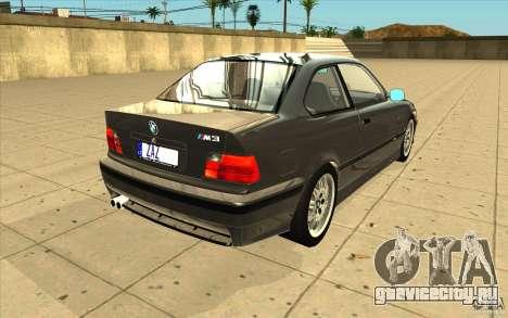 BMW E36 M3 - Stock для GTA San Andreas вид сбоку