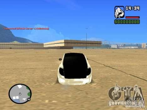 ВАЗ 2190 Гранта JDM style для GTA San Andreas вид сзади слева