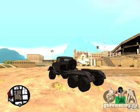 ЗиЛ 131В для GTA San Andreas вид слева
