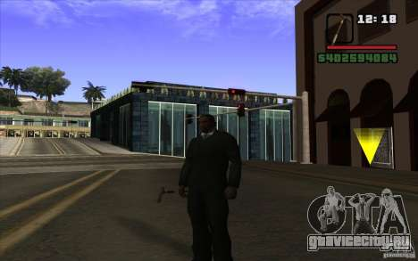 Новая трость для GTA San Andreas второй скриншот