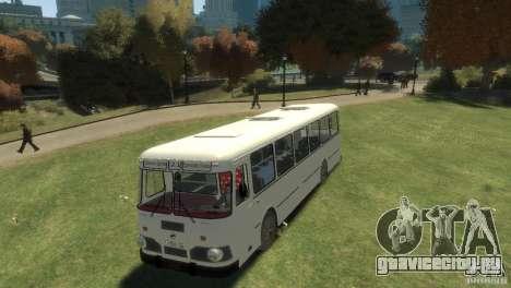 ЛиАЗ 677 для GTA 4 вид сзади слева