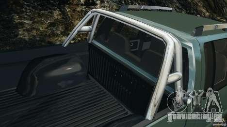Chevrolet S-10 Colinas Cabine Dupla для GTA 4 колёса