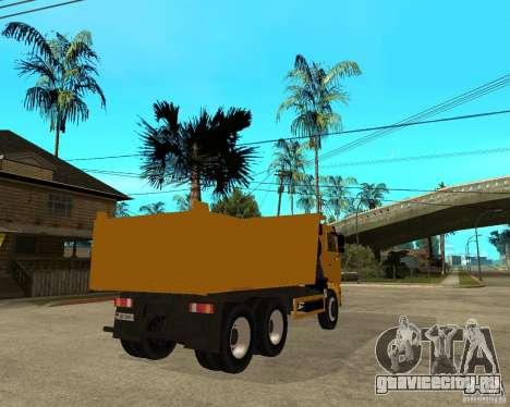 КамАЗ 6520 TAI для GTA San Andreas вид сзади слева