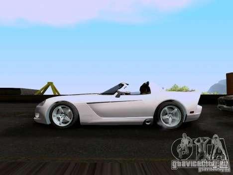 Dodge Viper SRT-10 Custom для GTA San Andreas вид слева