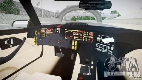 Knight Rider [EPM] для GTA 4 вид сзади