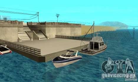 GTAIV Tropic для GTA San Andreas вид сбоку